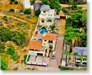 Pescadero Palace aerial view!