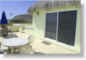 Penthouse Palapa has a large, private terrace!
